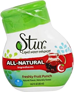 Stur - Liquid Water Enhancer Freshly Fruit Punch - 1.62 fl. oz.