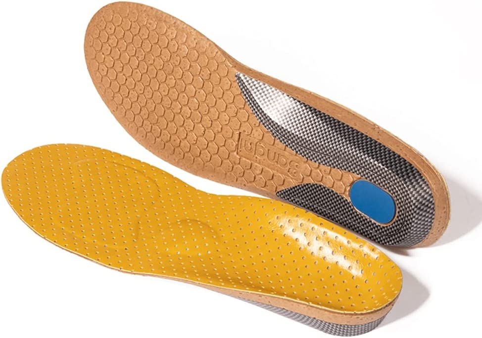 DIAOD Leather Challenge the lowest price Orthotics Insole for Flat Support Feet Hard Arch S SEAL limited product