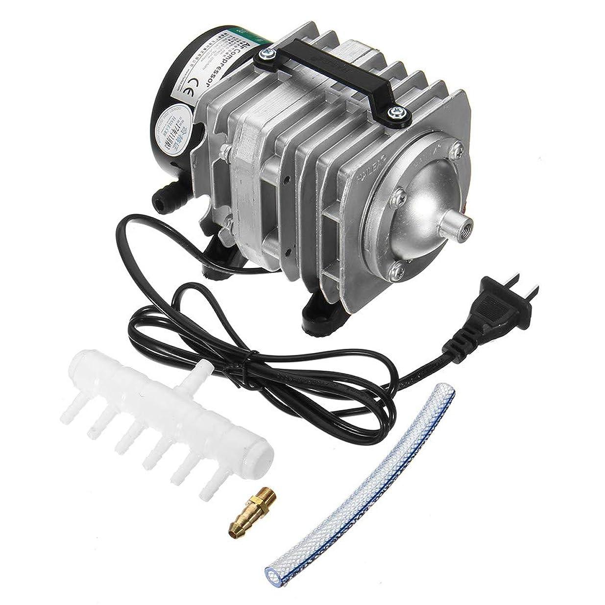 編集者エコーぴったり45W 220V 70L /最低の電磁空気圧縮機ポンプのアクアリウムの酸素の池の圧縮機の水耕の空気通風器ポンプ