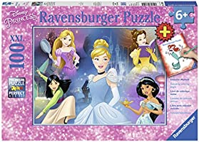 Ravensburger 13699 - Disney Charming Princess Jigsaw Puzzle 100pc