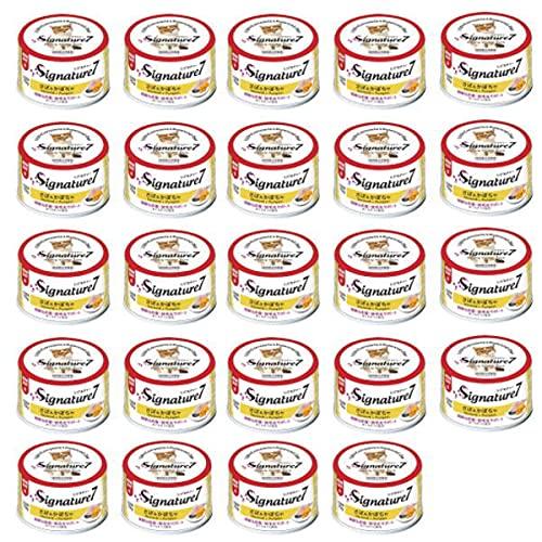 シグネチャー7 さば&かぼちゃ ネコ 猫 総合栄養食 グレインフリー グレイビー S7-G1 24缶セット