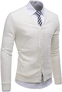 Mens Casual Shawl Collar Long Sleeve Slim fit Knit Cardigan Sweaters