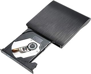 Goolsky Ultra Slim External Drive DVD-RW USB 3.0 Reader 3D Blu-Ray Player for Linux Windows Mac OS