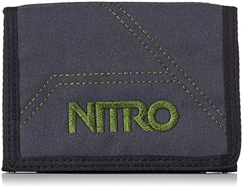 Nitro Snowboards Wallet Sac à Dos, Mixte, Wallet, Noir (Pirate), Taille Unique