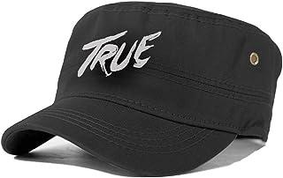 メンズ キャップ フラットトップハット 大きいサイズ ワークキャップ フラットキャップ 帽子 アヴィーチー Avicii True 無地 ワーク帽子 男女兼用 オールシーズン フラットトップ サイズ調節可