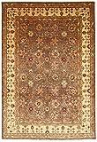 Nain Trading Ziegler Farahan 361x248 Orientteppich Teppich Orange/Rosa Handgeknüpft Pakistan