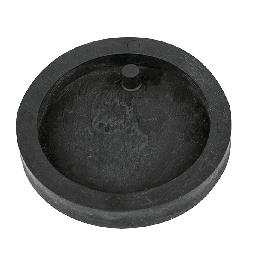 Rayher Casting Mould: Tag Round, ? 3,9cm, for Jewellery Cement, Thermoplastic Elastomers, Black, 11.5 x 8 x 0.8 cm