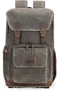 Mens Bag Liner Lens SLR Digital Camera Bag Seven-color Cotton Shoulder Camera Bag Retro Men And Women Waterproof Shoulder Bag High capacity