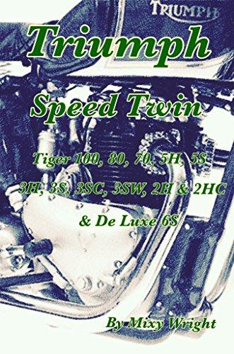 Triumph Speed Twin: Triumph Speed Twin, Tiger 100, 80, 70, 5H, 5S, 3H, 3SC, 3SW, 2H, 2HC & De Luxe 6S (English Edition)