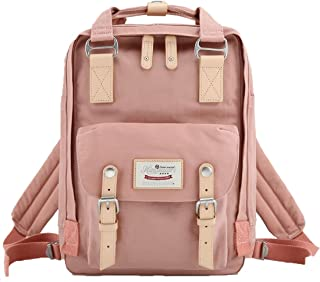 School Waterproof Backpack 14.9 College Vintage Travel Bag for Women,14 inch Laptop for Student