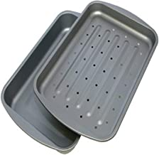 product image for G & S Metal Products Company OvenStuff Nonstick Bake and Roasting Pan, 10.5 x 2 x 14.5 inches, Gray