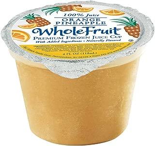 Whole Fruit Orange Premium Juice Cup, 4 Ounce -- 96 per case.