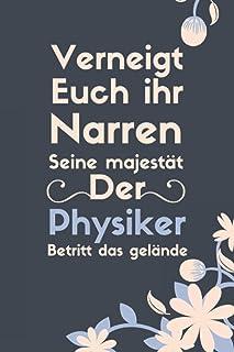 Cooles Physiker Notizbuch I Lustiges Physik Studenten Lehrer Geschenk Tagebuch Uni Schul Buch, Physiker geburtstag geschen...
