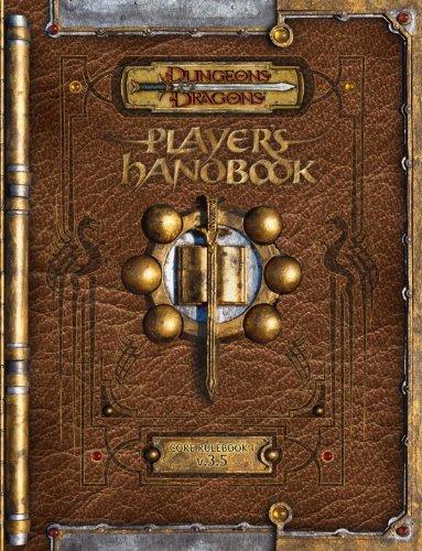 Premium Dungeons & Dragons 3.5 Player's Handbook with Errata: Core Rulebook I V.3.5