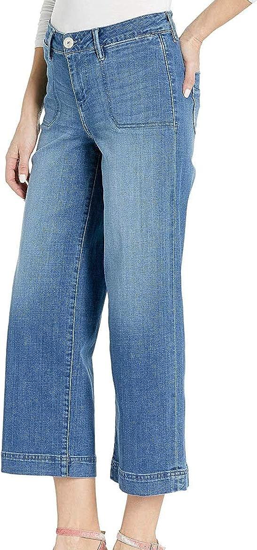 Jag Jeans Women's Simone Wide Leg Denim Crop Jean
