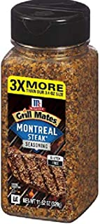 McCormick Grill Mates Montreal Steak Seasoning, 11.62 Ounce