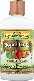 Dynamic Health Organic Certified Nopal Gold,Nopal Cactus 32fl oz (946 ml)