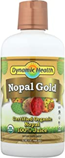Dynamic Health Organic Certified Nopal Gold,Nopal Cactus 32fl oz (946 ml)