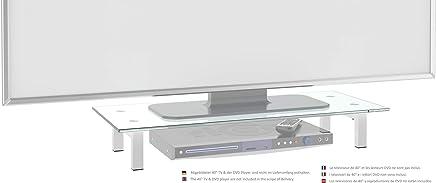 RICOO Supporto da tavolo per TV Montaggio FS6028-W Staffa per televisore base piatto piedistallo Smart 4K Curvo 3D QLED OLED LED LCD mobile braccio television universale Colore Bianco - Trova i prezzi più bassi