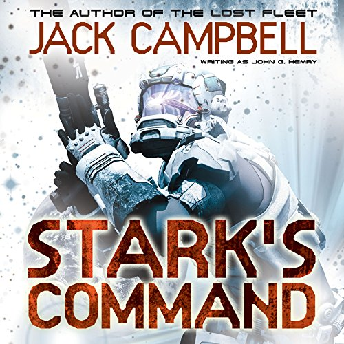 Stark's Command audiobook cover art