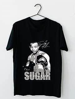sugar ray robinson 94 Cotton short sleeve T shirt, Hoodie for Men Women Unisex