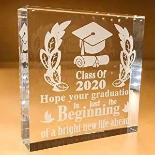 Graduation Gifts For Him   Her   2020   Girl   College   For Daughter   Women   High School   Nursing Students   Grad   Keepsake   Paperweight