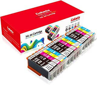 Galada Compatible Ink Cartridges Replacement for Canon Pgi-250xl Cli-251xl 250 251 XL for Pixma MX922 MX920 MX722 IP7220 IP8720 IX6820 MG5420 MG5422 MG5520 MG5522 MG5620 MG6320 Printer 15PACK