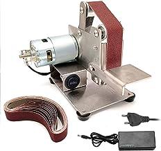 Romacci Moedor multifuncional Mini Lixadeira de correia elétrica DIY polimento Máquina de polimento cortador afiador de bo...