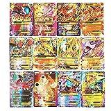 Cortneyrs Pokemon Card, Pokemon Flash Card, Pokemon Card, Carta per Bambini, 60 Carte GX Complete, 60 Carte Mega Complete (60pcsEX)