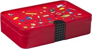 LEGO Iconic Sorting Box, Bright Red, one Size
