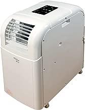 SoleusAir PSQ-08-01 8,000 BTU 115V Portable Evaporative Air Conditioner with LCD Remote Control, White