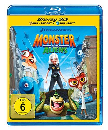 Monster und Aliens (+ Blu-ray 2D)