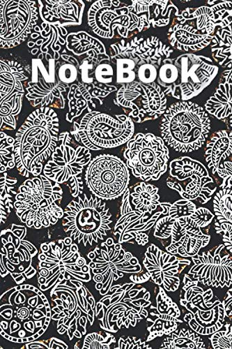 Notebook: Notebook, lined Journal with 80 pages, hardcover journal with cream paper 6x9 inch
