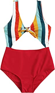 Best knot front one piece swimsuit Reviews
