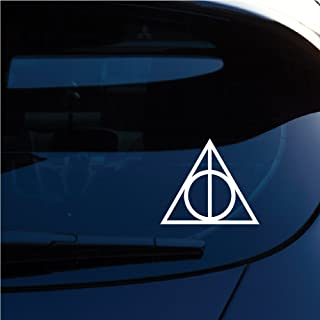 Best deathly hallows symbol car sticker Reviews