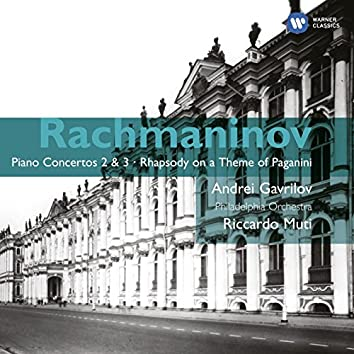 Rachmaninov: Piano Concertos 2 & 3 - Rhapsody on a Theme of Paganini