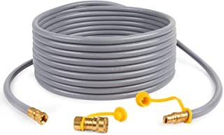 GASPRO 36FT 3/8-Inch Natural Gas Quick Connect Hose, Propane to Natural Gas Conversion Kit for Grill, Smoker, Fire Pit, Pa...