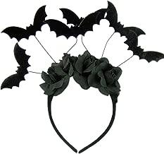 Halloween Black Bat Headband Costume Accessory