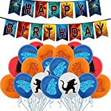 Godzilla - Juego de globos de cumpleaños con diseño de godzilla