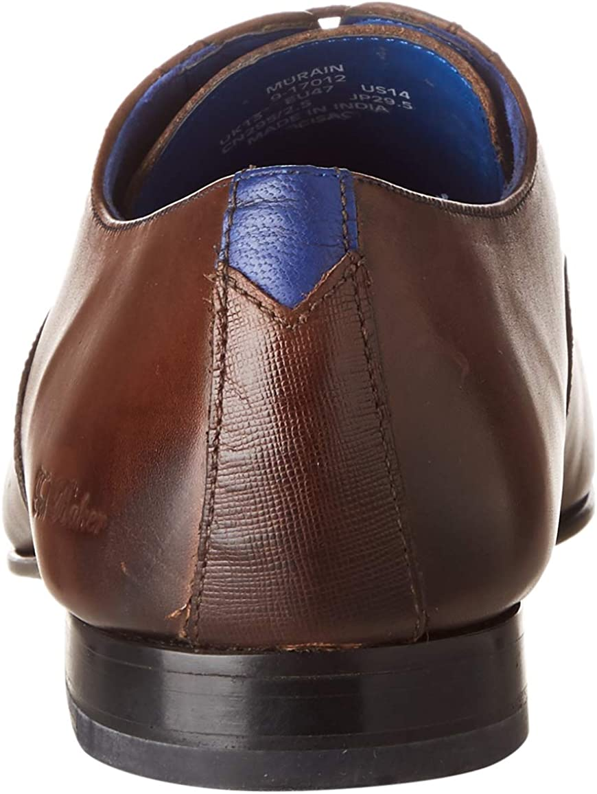 Ted Baker Men's Oxford Lace-Up, Brown Brown BRN, 7