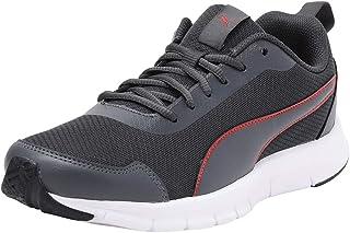 Puma Men's Hurdler Idp Dark Shadow-high Risk Red Sneakers