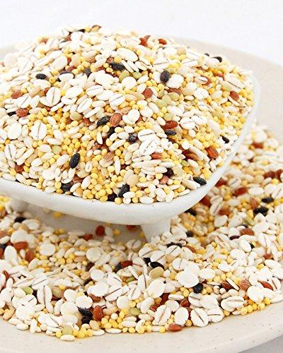 ●田舎めし 雑穀米 七穀米 500g【保存に便利なジッパー付き】米粒麦、もちきび、押し麦、もち米、赤米、緑米、黒米