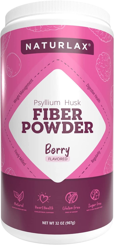 2021 Directly managed store autumn and winter new Naturlax Flavored Fiber Powder Psyllium Husk Prebiotic Natural
