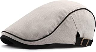 06c999f1690 Gatsby Hats for Men Newsboy Flat Ivy Cap Fashion Classic Cabbie Caps for  Driving Hunting Outdoor