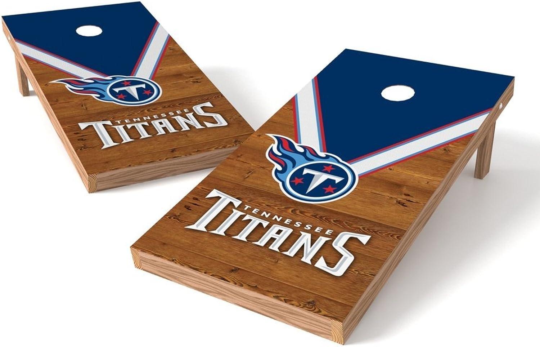 PROLINE P4N-130-53 NFL 2'x4' Cornhole Board Set, Uniform Design, Tennessee Titans