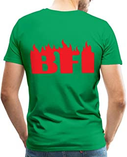 Spreadshirt Billy Idol BFI Records Men's Premium T-Shirt, M, Kelly Green