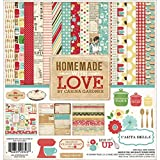 Echo Park Paper Carta Bella Kit de Papel para Manualidades (30,4x 30,4cm, casera con Amor