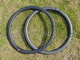 Toray carbono llantas Full Carbon Ud brillante Discos de Freno de Bicicleta de carretera Clincher Wheel Rim 38mm agujeros de llantas de la rueda: 28, 32