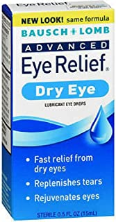 Bausch & Lomb Advanced Eye Relief Rejuvenation Lubricant Eye Drops 0.50 oz