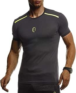 LEIF NELSON DI Ginnastica da Uomo Fitness Stringer ln06205